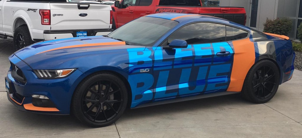 Lithia Ford Boise >> Partial Auto Wraps | Car Wraps | Boise, ID | Sport Graphics